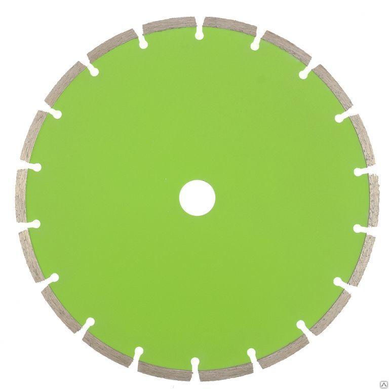 Алмазный сегментный круг для резки асфальта 350х10х25,4