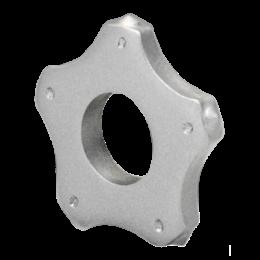 Пятиконечная звезда (ламель) с твердосплавными наконечниками Ø45х16х6