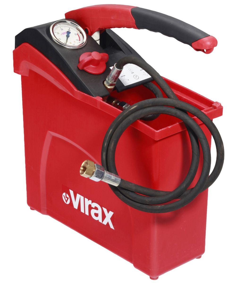 Ручной опрессовщик VIRAX 10 л, 50 бар