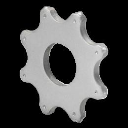 Восьмиконечная звезда (ламель) с твердосплавными наконечниками Ø83х30х8