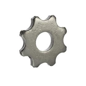 Восьмиконечная звезда (ламель) с твердосплавными наконечниками Ø56х20х6